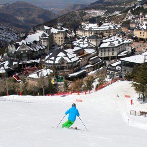 cursos de ski en sierra nevada